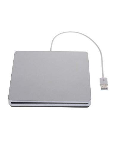 zhizhuâ® externa slot-in usb cd-rw dvd-r dvd (grabadora de c