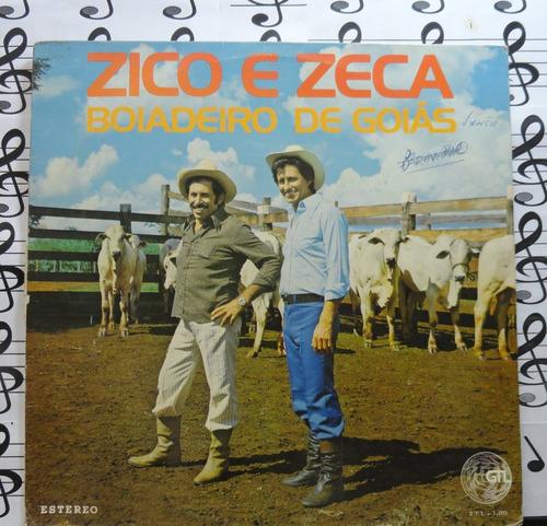 zico e zeca boiadeiro de goias lp forró sertanejo estéreo