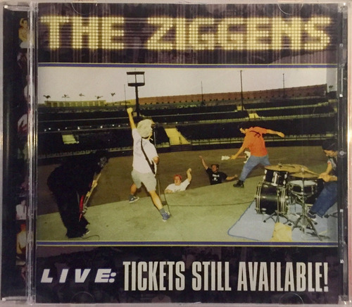 ziggens, the - live:tickets still available - cd imp lacrado