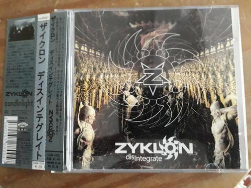 ziklon (disintegrate) cd importado do japão- frete gratis