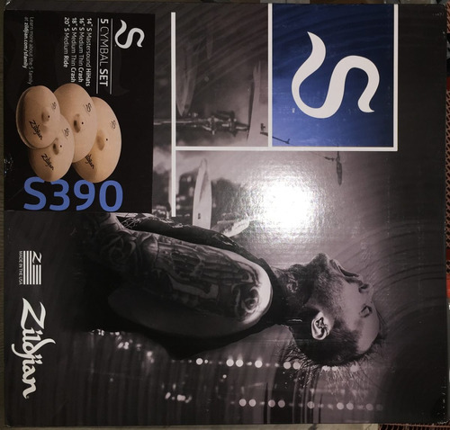 zildjian s s390 family 5 cymbal set