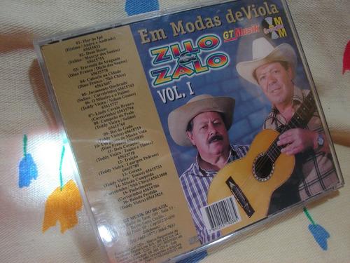 zilo e zalo modas de viola cd original sertanejo rei do gado