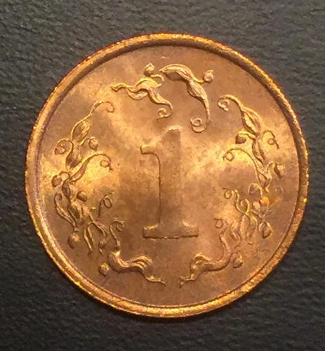zim002 moneda zimbawe 1 cent 1983 unc-bu ayff