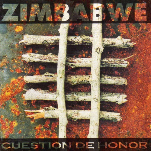 zimbabwe - cuestion de honor.! cd original 1994
