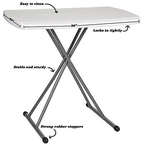 zimmer personal mesa plegable robusta y durable piernas de m