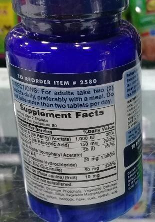 zinc for acne good natural 100 tabletas - contra el acné