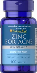 zinc for acne vitaminas a c e b6 rosa canina 100 tabletas