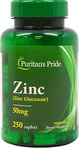 zinc gluconato 50mg 250cap acne testosterona vitamina gnc bc