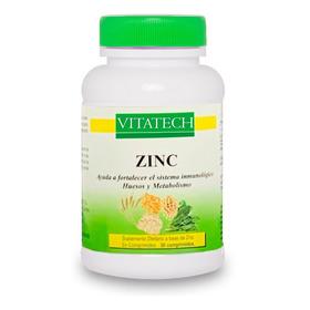 Zinc X 30 Comprimidos Antioxidante Vitatech