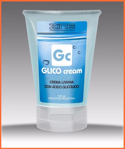 zine. glico cream glicolico 10%. 120g palermo