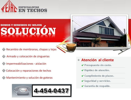 zinguero colocacion y reparacion de zinguerias 4-454-0437