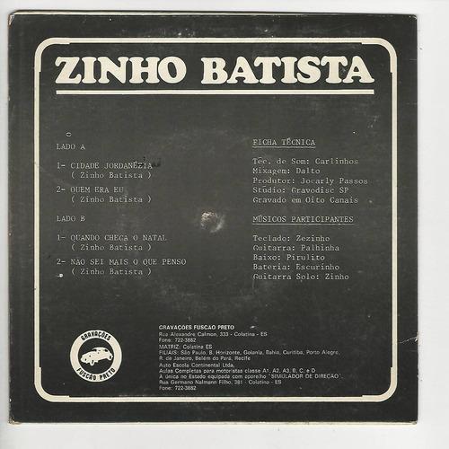 zinho batista - cidade jordanésia - compacto - ep f6
