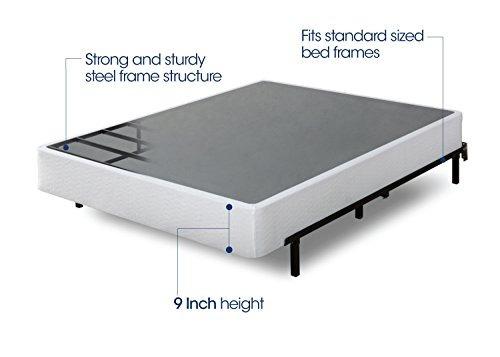 zinus 9 pulgadas de alto perfil de smart box spring /  k40
