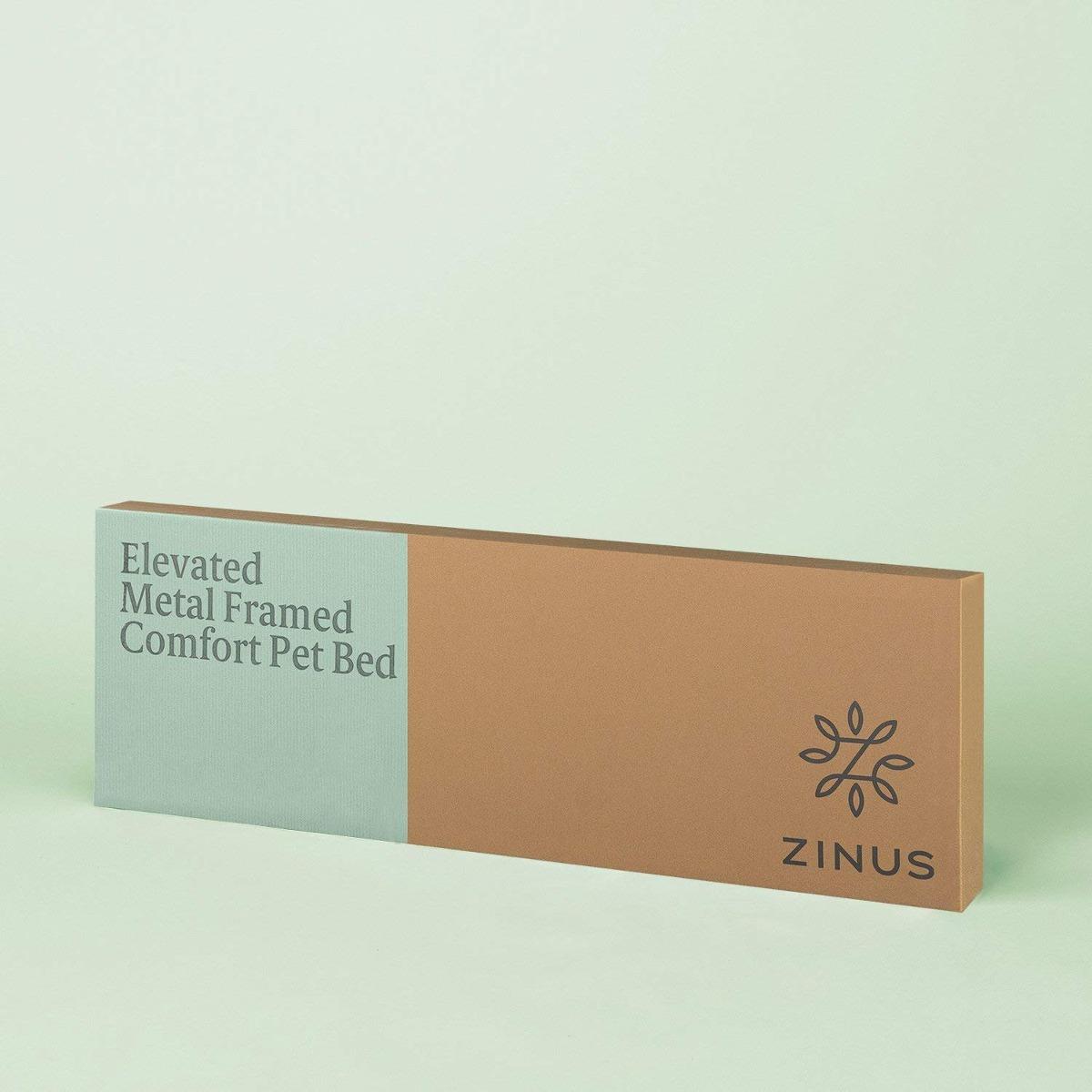 Zinus Elevado Metal Enmarcado Comodidad Mascotas Cama - $ 1,332.54 ...