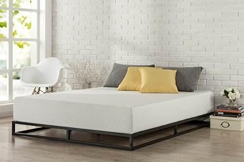 zinus modern studio marco de cama de 6 posiciones de perf