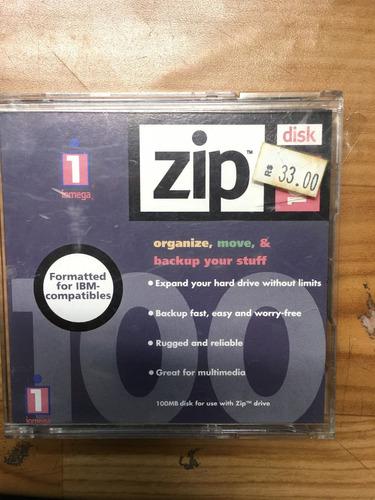zip disk  iomega 100mb