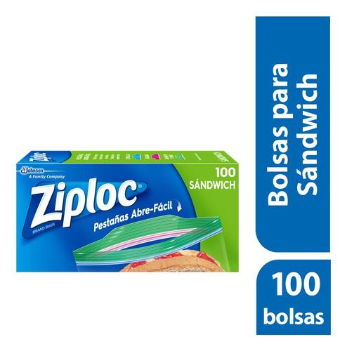 ziploc bolsas para sandwich 100 bolsas