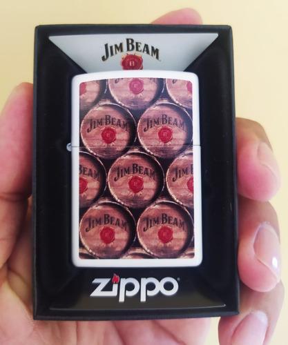 zippo jim beam original en caja y manuales