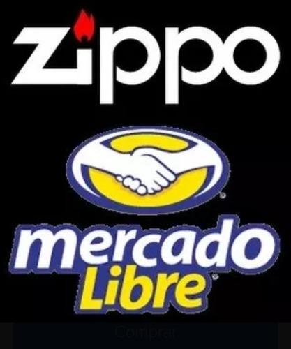 zippo kit mecha + piedra original envios ( ecuaclick )