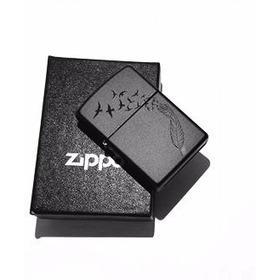 Zippo Negro Matte / Personalizado. Foto Nombre Logo Envio G