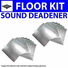 for 40-46 Chevy Truck ~ Floor Kit Zirgo 314469 Heat and Sound Deadener