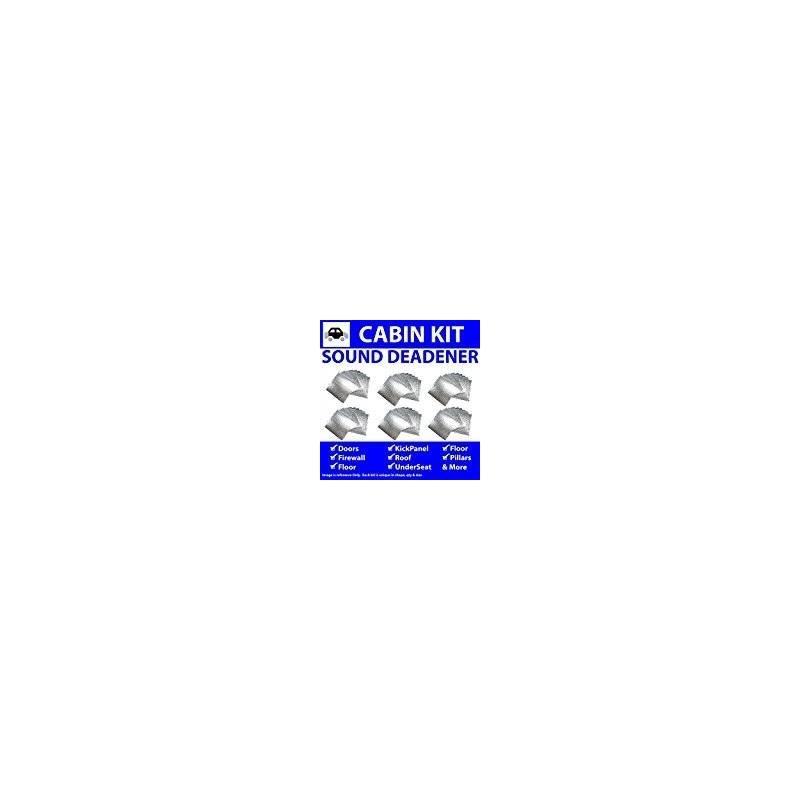 Zirgo 314755 Heat and Sound Deadener for 66-72 Coronet ~ in Cabin Kit