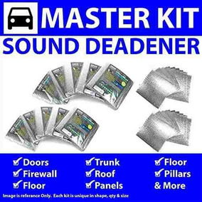 for 72-81 e12 BMW ~ in Cabin Kit Zirgo 314793 Heat and Sound Deadener