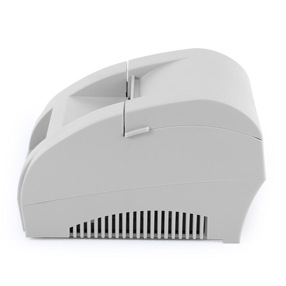 zj portátil 58mm usb pos recibo térmico impresora blanco 390 86