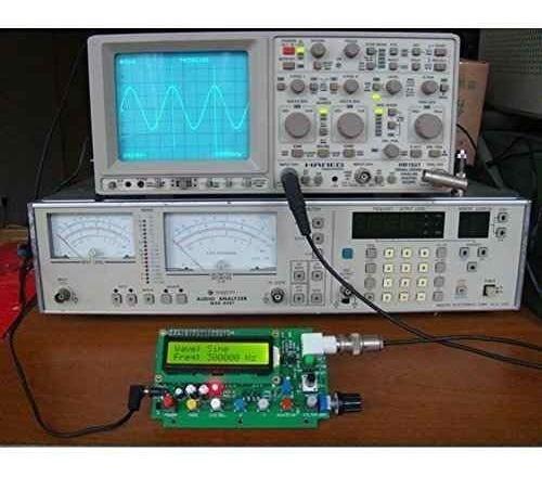zjchao 1hz500khz dds función generador señal módulo sine tri
