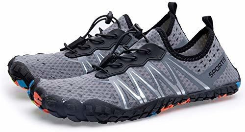 zjoyee zapatos acuaticos de secado rapido multiuso para homb