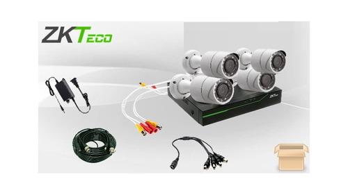 zk 3104xeclkit - kit de cámaras 4 canales 1080p lite p2p