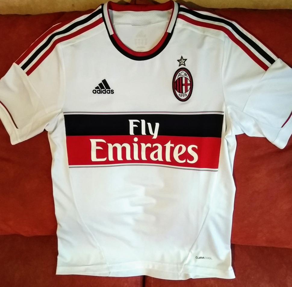 new photos 8e18e 093fa Zlatan Ibra Ac Milan Jersey adidas Blanco