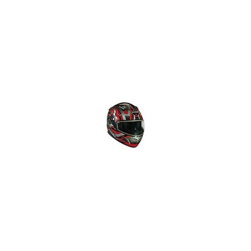 zoan flux 4.1 diablo rojo modular flip up casco para moto de