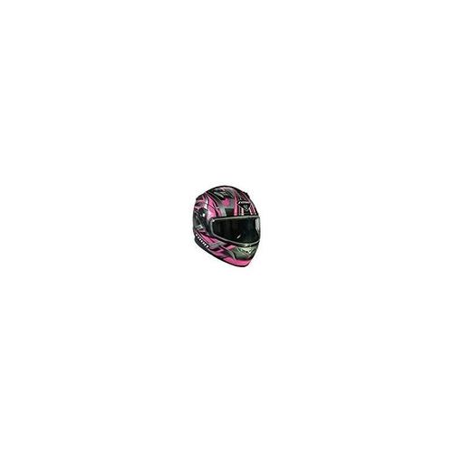 zoan flux 4.1 diablo rosa modular flip up casco de moto de l