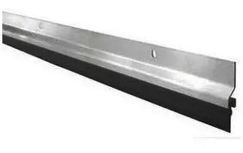 zocalo 90 cm fijo puerta aluminio pulido burlete ramos mejia