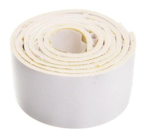 zocalo burlete goma para puerta blanco adhesivo suprabond