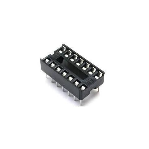 zocalo ic socket 16 pin dip 16 para soldar