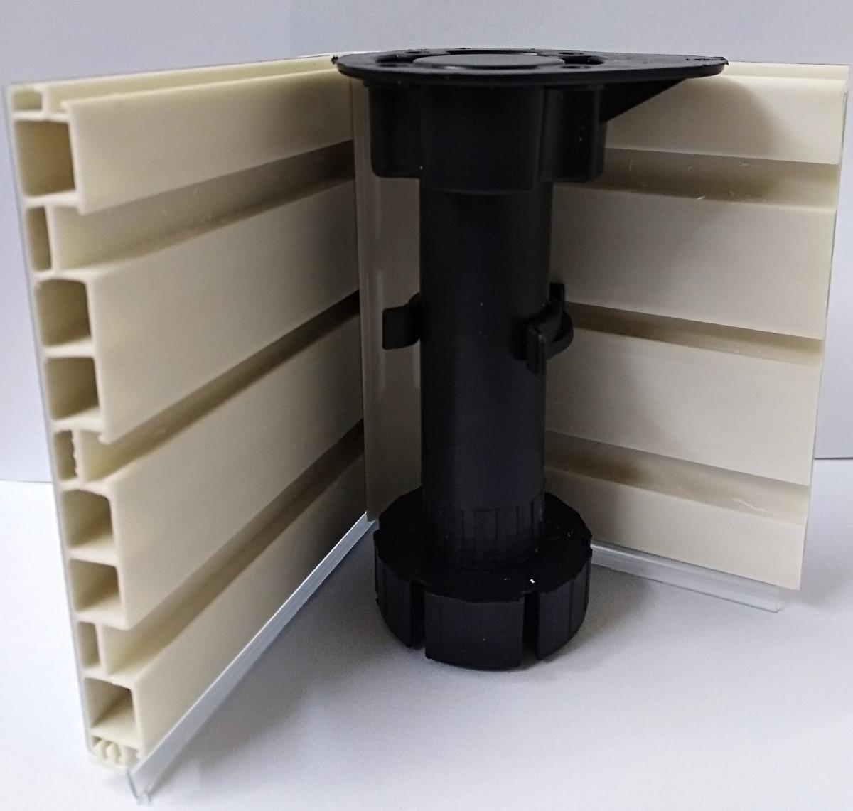 Zócalo Para Mueble De Cocina De Pvc Con Aluminio 12cm - $ 12.114,00 ...