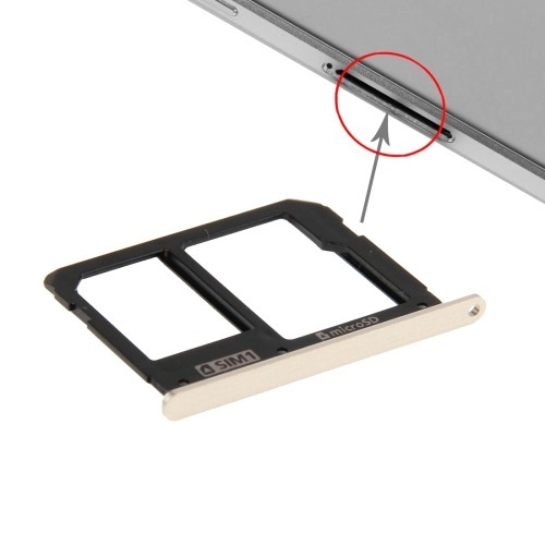 zocalo sim card tray and micro sd replacement para gold