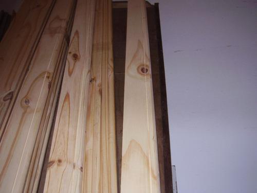 zócalos en madera pino eliotis