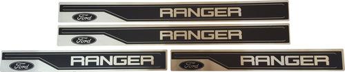 zocalos importados acero inoxidable x4 ford ranger