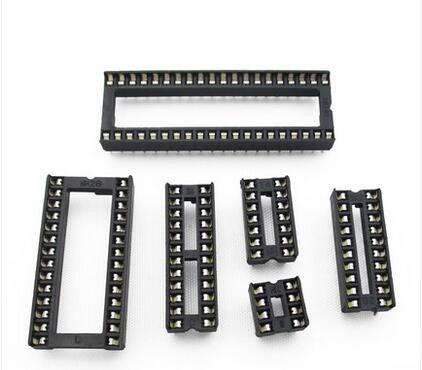 zocalos para circuito integrado dil dip socket x20 unidades