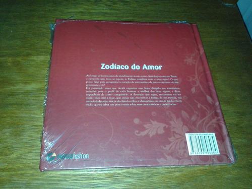 zodíaco do amor - livro novo