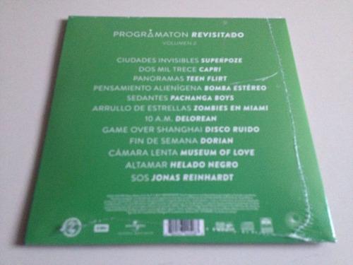zoe programaton revisitado volumen 2 cd nuevo