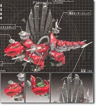 zoids dimetrodon