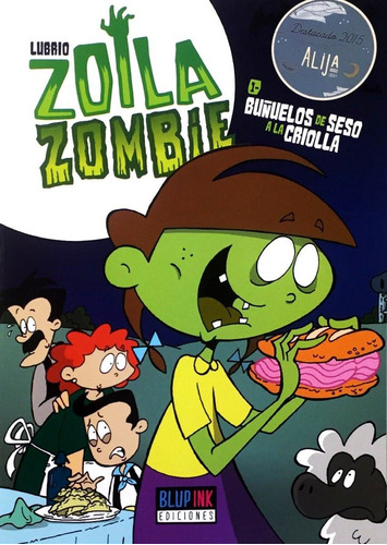 zoila zombie libro 1 - editorial blupink - lubrio
