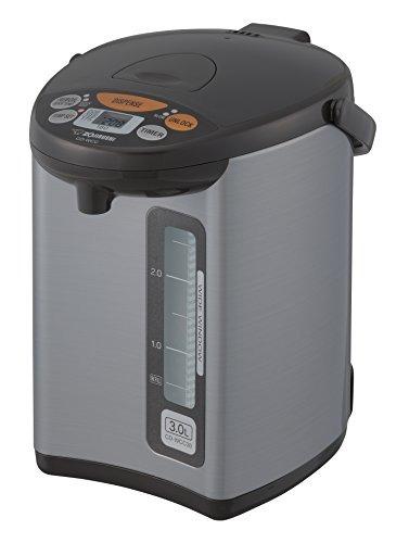zojirushi cd-wcc30 micom caldera de agua y calentador, plata
