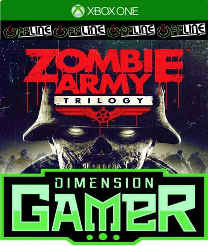 zombie army trilogy - xbox one - n codigo offline