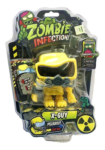 zombie infection muñeco playking