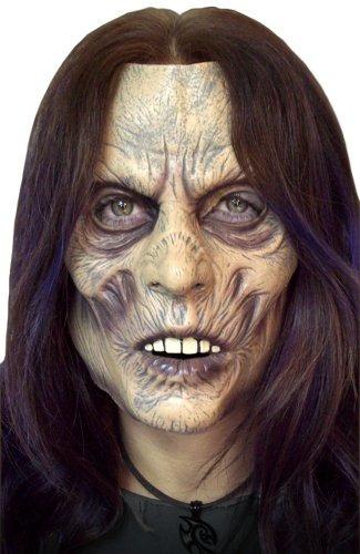 zombie lady soft vinyl máscara facial